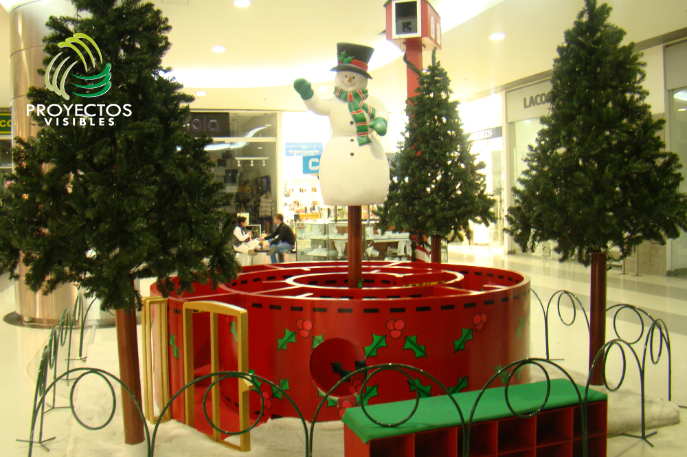 Escenarios de navidad decoraci n a gran escala for Articulos de decoracion para navidad