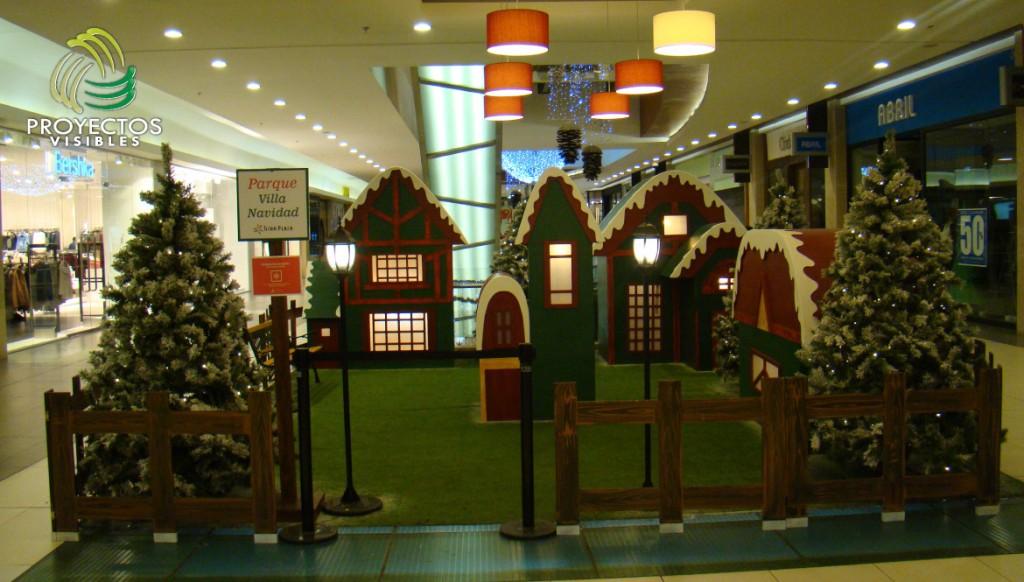 escenarios de navidad decoraci n a gran escala